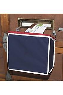 Amazon.com: Large Woven Mail Basket For Magazine Sized Mail Slots ...