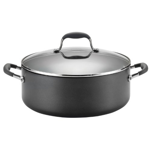 Anolon Stock Pot (Anolon Advanced Hard Anodized Nonstick 7-1/2-Quart Covered Wide Stockpot with out Steamer Insert)