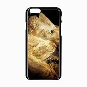 iPhone 6 Black Hardshell Case 4.7inch mane big predator Desin Images Protector Back Cover