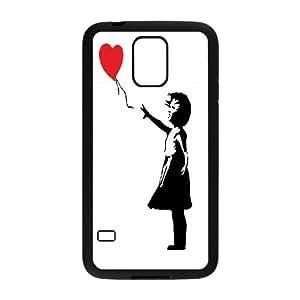 Banksy Graffiti Art Balloon Girl for Samsung Galaxy S5 Case AER432678
