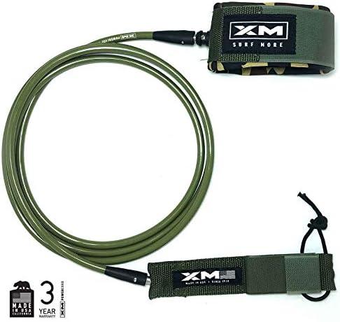XM サーフボードリーシュ/ビッグウェーブ (.313インチ) // 米国製 / 3年保証。