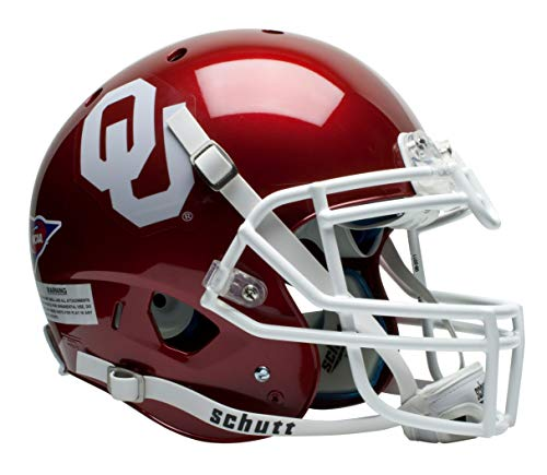 Sooners Oklahoma Ncaa Helmet - Schutt NCAA On-Field Authentic XP Football Helmet, Oklahoma Sooners
