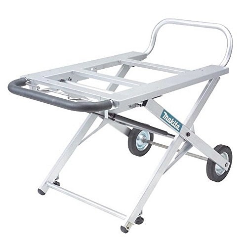 Makita 194093-8 Adjustable Portable Table Saw Stand with Wheels