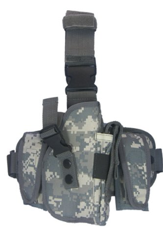 TufForce Universal Digital ACU Adjustable Tactical Thigh & Leg Holster -
