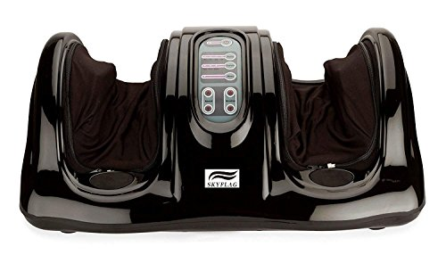 SkyFlag Electric Shiatsu Kneading Rolling Foot Massager For Pain...