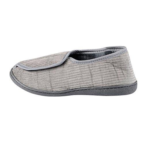 EGO - Zapatillas de estar por casa para hombre Gris - gris