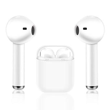 Auriculares Auriculares Bluetooth Auriculares inalámbricosi8X, auriculares estéreo con micrófono y reducción de ruido, auriculares deportivos, ...