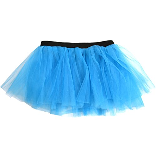 Runners Tutu by Gone For a Run | Lightweight | One Size Fits Most | Neon (Neon Blue Tutu)