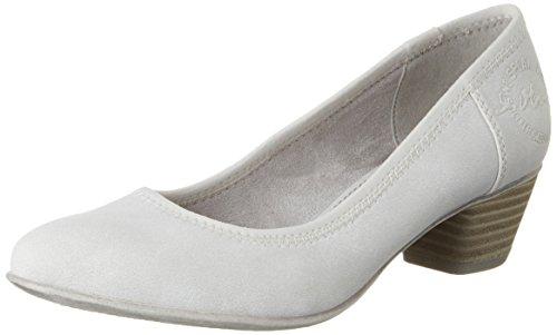 s.Oliver 5-5-22301-28, Zapatos de Tacón Mujer Blanco (Cloud 807)