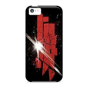 Iphone 5c HQP16077VeuL Special Colorful Design Skrillex Series Shockproof Hard Phone Cases -ErleneRobinson