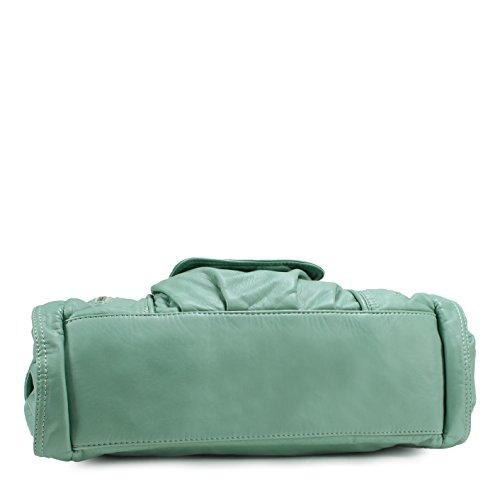 Shoulder Scarleton Mint Fashion Bag Decorative Zipper H1635 wnwt8a1Fq