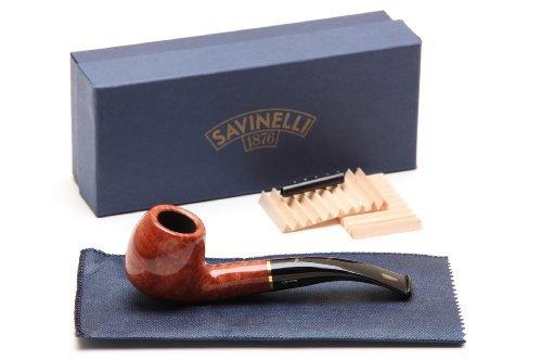 Savinelli Oscar Tiger Smooth Briar Pipe 626 Tobacco Pipe