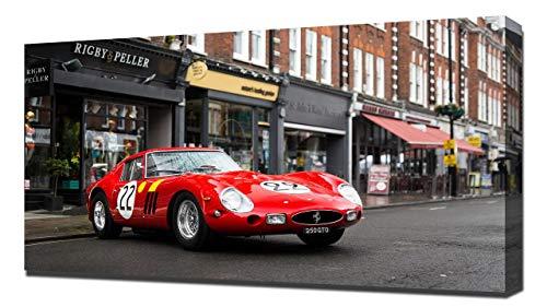 Lilarama USA 1962 Ferrari 250 GTO V17 - Canvas Art Print - Wall Art - Canvas Wrap