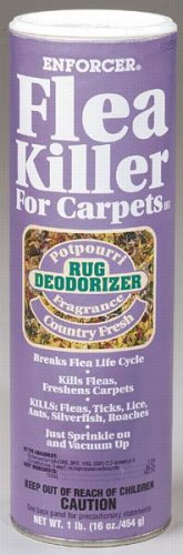 Enforcer Prod. CFF16 Flea And Tick Killer For Carpets