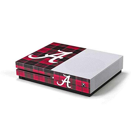 - University of Alabama Xbox One S Console Skin - Alabama Plaid   Schools & Skinit Skin