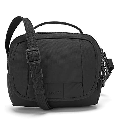 Pacsafe Metrosafe Ls140 Anti-Theft Compact Shoulder Bag, Black