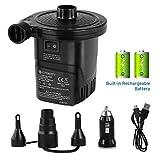 Best Air Mattress Pumps - Etekcity EAP2-RC Electric Rechargeable Portable Air Mattress Pump Review