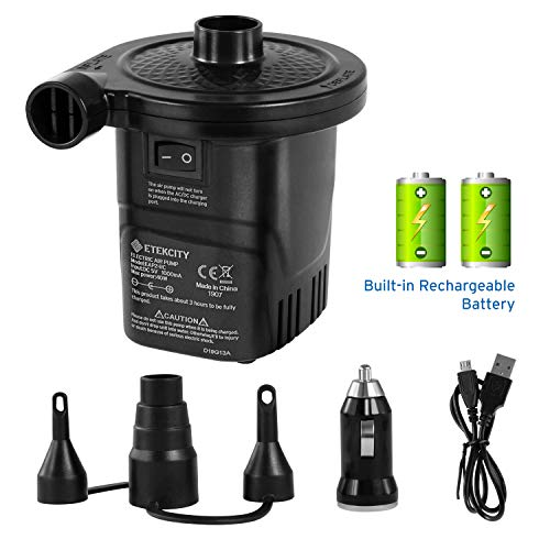 Etekcity Electric Rechargeable Quick Fill Inflatables