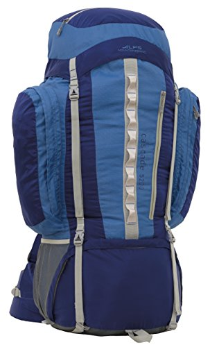 ALPS Mountaineering Cascade 5200 Internal Frame Pack, Blue
