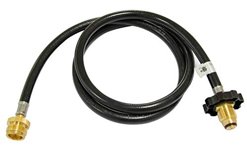 Hongso HRCC1-1 Propane Adapter Hose Assembly with POL Connector for Most LP Tank Appliance to Refillable Propane Cylinder, CSA Certified, 5-Foot