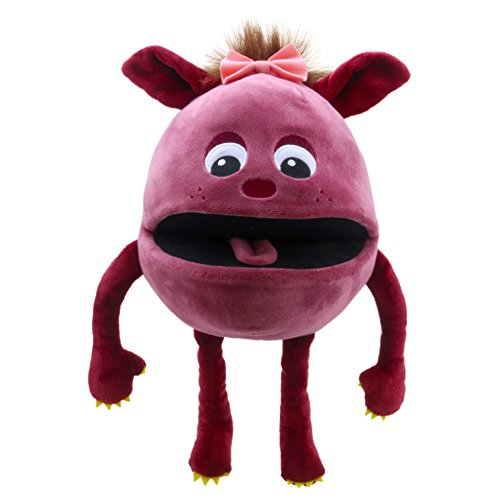 The Puppet Company Baby Monsters Rasberry Monster Hand Puppet ()
