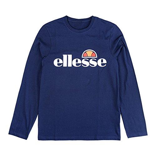 ellesse Longsleeve Tournamo, Size:M, Color Peacoat by ellesse (Image #1)