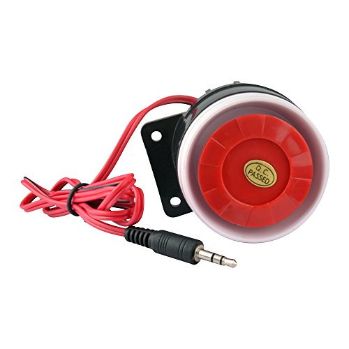 2 to 12V DC Piezo Electronic Buzzer Alarm Electric Security Siren Horn 120dB@12VDC