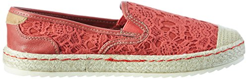 Rosso Mustang 5 Donna Basse Espadrillas 1245 207 Rot Yqxrwq8X