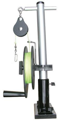 Bert's Custom Tackle Single Reel Shorty Mast, 20-Inch (20 Inch Reel)