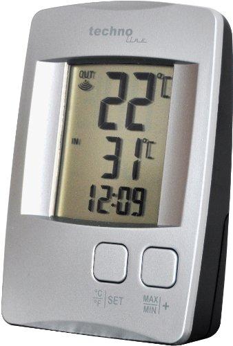 Technoline WS 9116 Plata digital weather station - Estación meteorológica (AAA Micro LR 03, AAMignon LR 06, Plata, 30 mm,...