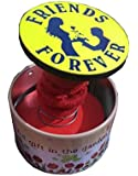 Atnep Lilone Friends Forever Pop-Up Box Music, Round Shape, Gift
