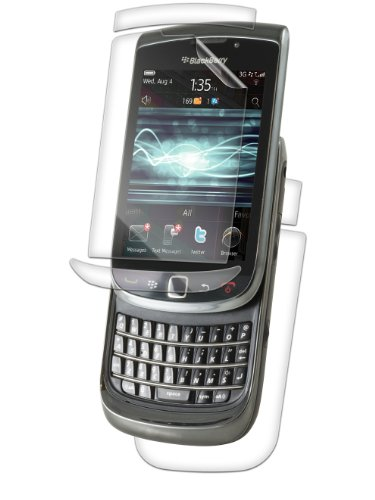 InvisibleShield for BlackBerry Torch 9800 Full Body - 1 Pack - Screen Protector - Retail Packaging - Clear