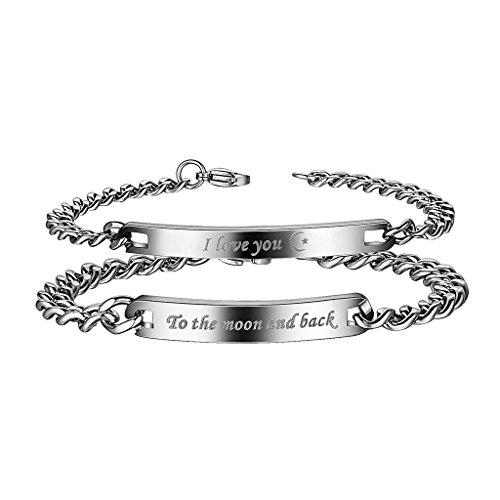 COAI Matching Stainless Couple Bracelet