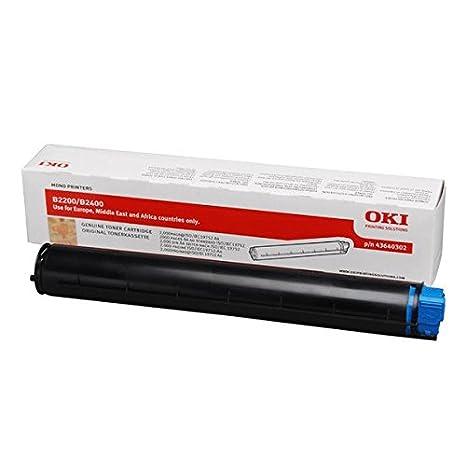 Amazon.com: OKI cartucho de tóner para B2200 y B2400 ...