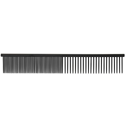 Master Grooming Tools Xylan Combs — Coated Combs for Grooming Dogs – Fine/Coarse, 7½""