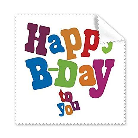 Colorido Feliz cumpleaños regalos Cartoon Cartas bendición ...
