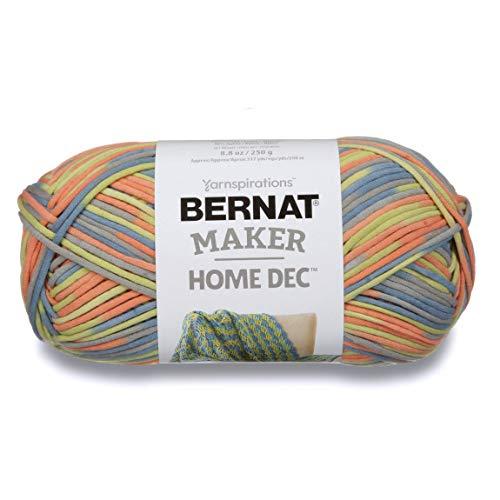 Bernat Maker Home Dec Yarn, 8.8oz, Guage 5 Bulky Chunky, Retro Varg