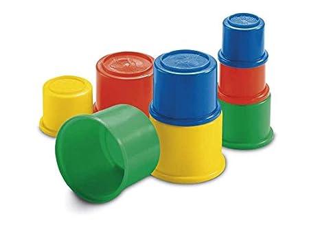 Mattel  Fisher Price Cubos de construcción moldes para arena con diseño