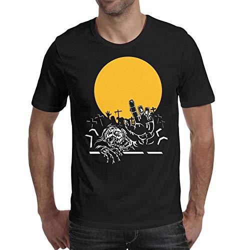 Melinda Halloween Light Zombie Figures Men's t Shirts Casual Mens Guys Halloween Costume t -
