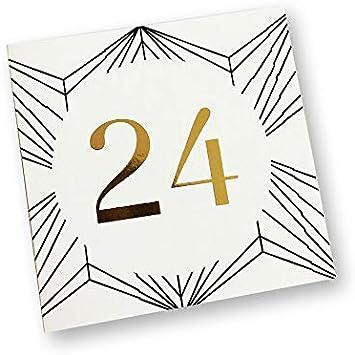Zum selbst gestalten Adventskalender Etiketten zum Basteln und Dekorieren Geschenkidee in der Vorweihnachtszeit f/ür Frauen und M/änner Pastell Rosa 24 Zahlenk/ärtchen f/ür Weihnachtskalender