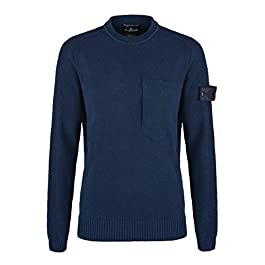 Stone Island Shadow Project Crew Knit (Navy) – RRP £475