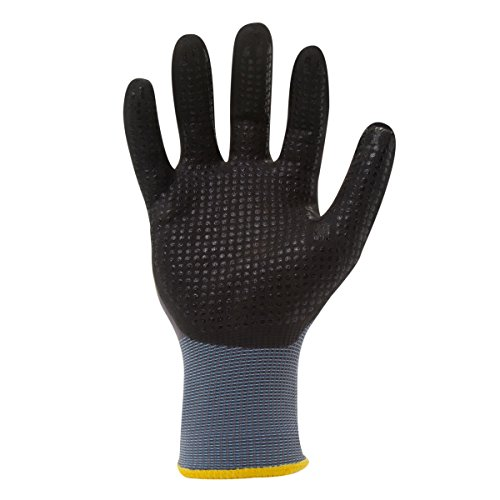 212 Performance Gloves AXDG-16-012PR AX360 Dotted Grip Nitrile-dipped Work Glove, 1-Pair, XX-Large by 212 Performance Gloves (Image #2)