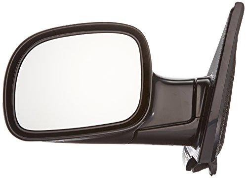Depo 333-5403L3MB Black Driver Side Manual Mirror ()