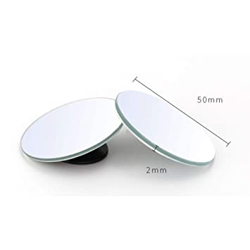 Small ABS Mirror Car Rearview Mirror 360 degree Blind Spot Wide-angle Lens