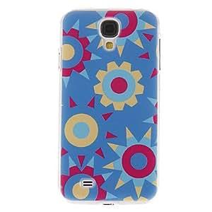 ZXM-Flores Patrón múltiple cubierta de la caja protectora dura de plástico para el Samsung Galaxy S4 i9500