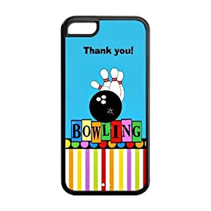 MMZ DIY PHONE CASESpecial Designer Strike Bowling Pins Silicon iphone 4/4s Case, Snap on Protective Bowling iphone 4/4s Case