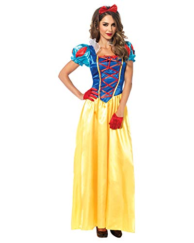 Leg Avenue Women's Classic Snow White Halloween Costume, Multi, X-Large]()