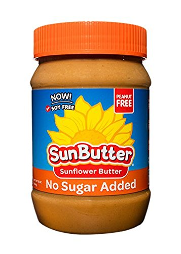 SunButter Natural No Sugar Added Sunflower Butter with hint of salt (Pack of 6) 1 Pack of 6 jars Natural, simple and delicious peanut butter alternative with 7 grams of protein per serving Free from top 8 food allergens: peanuts, tree nuts, milk, eggs, wheat, fish, shellfish and soy