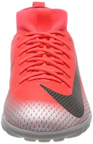 Rosso Bambini Cr7 Tf chrome Scarpe 600 black Gs dk Unisex Grey Crimson Jr Sperfly 6 brt Calcio Da – Academy Nike qXO7Yc