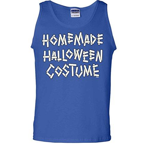 Homemade Halloween Costume Tank Top - Royal XX-Large (20 Homemade Halloween Costumes)
